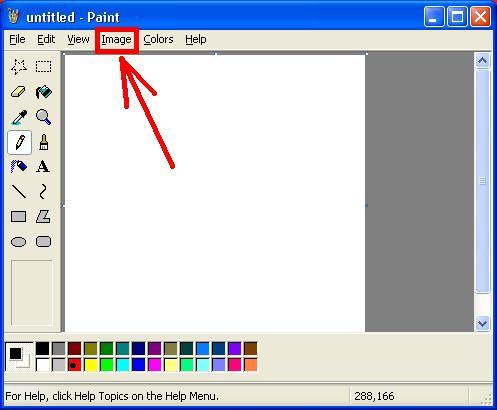 Buka Aplikasi Paint , Aplikasi edit gambar sederhana yang sudah ada ...